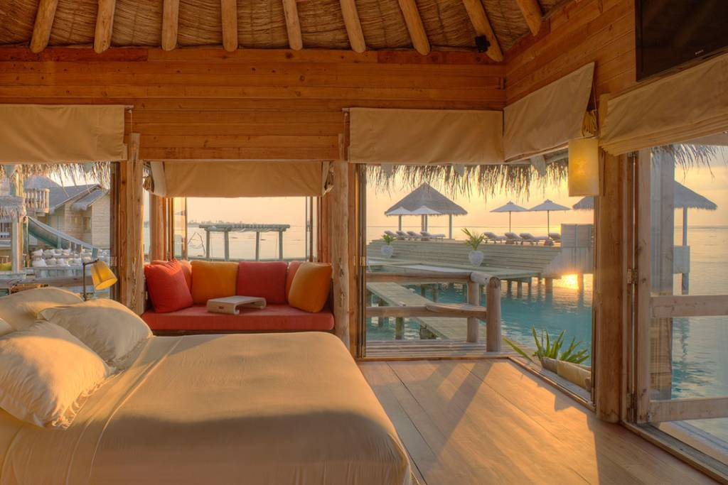 Gili-Lankanfushi-Private-Reserve-Bedroom-View