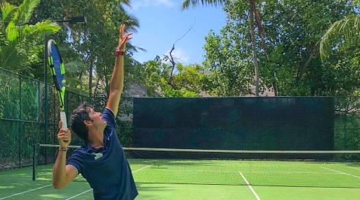 Gili Lankanfushi Tennis Court