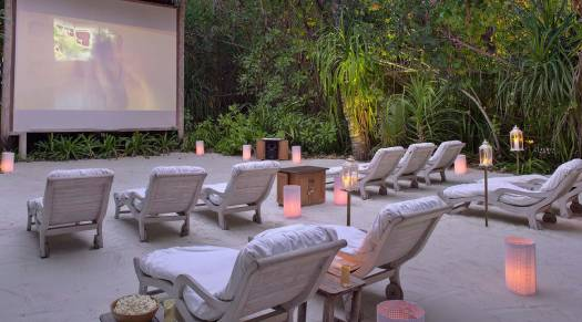 Jungle Cinema at Gili Lankanfushi